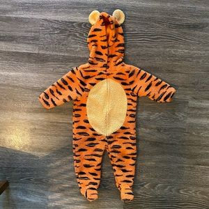 Baby tigger/tiger costume onesie